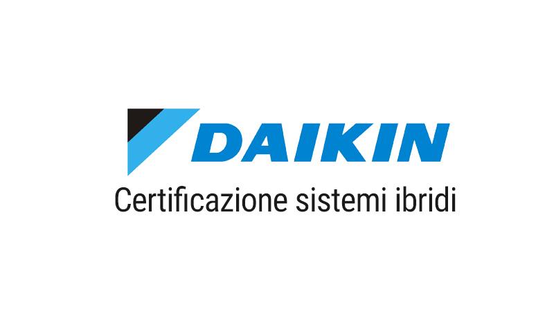 Certificazione Daikin sistemi ibridi