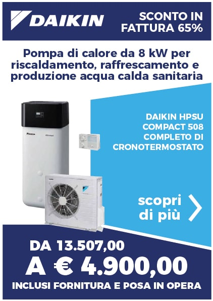 daikin pompa di calore sistema riscaldamento lecce procom 1